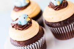 Spring cupcake Royalty Free Stock Photography