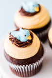Spring cupcake Stock Photos