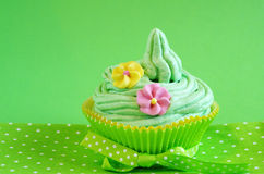 Spring cupcake Royalty Free Stock Images