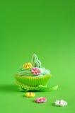 Spring cupcake Royalty Free Stock Photos