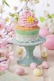 Spring cupcake Stock Image