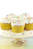 Spring Cupcakes Royalty Free Stock Photos