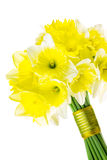 Spring daffodil wedding bouquet Stock Photography