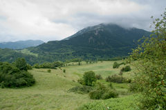 Spring day in the French Pyrenees Royalty Free Stock Photography