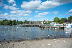 Spring day at Lake Windermere Stock Photography