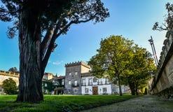 Museo de Quinones de Leon - Vigo. A spring day at Museum of Galician aristocracy - Museo Quinones de Leon stock photo