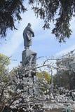 A spring day in the Shevchenko Park. In Kharkov. In Ukraine, April 25, 2013 Stock Image