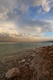 Spring on the Dead Sea in Israel Stock Photo