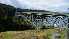 Spring at Deception Pass, Washington State, USA Stock Photos
