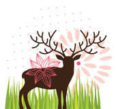 Spring deer Royalty Free Stock Photography