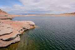 Spring Desert Lake Royalty Free Stock Photos
