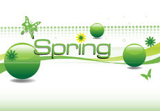 Spring design Stock Photos
