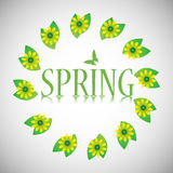 Spring design Royalty Free Stock Photography