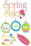 Spring Design Elements stock illustration