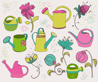 Spring design elements Stock Photography