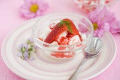 Spring dessert Stock Image