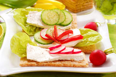 Spring diet breakfast Stock Photos