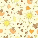 Spring doodles set Stock Images