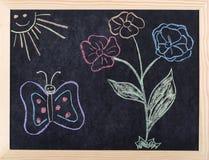 Spring drawing Stock Photos