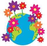 Spring Earth Royalty Free Stock Photos