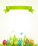 Spring Easter background Royalty Free Stock Photo