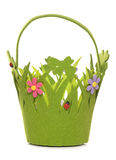 Spring easter basket Royalty Free Stock Image