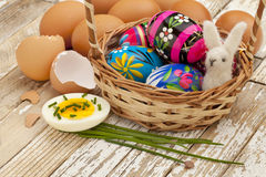 Spring or Easter egg concept Stock Image