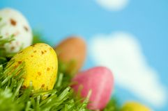 Spring Easter Eggs Royalty Free Stock Images
