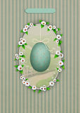 Spring Easter postcard Stock Images