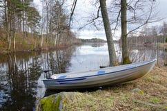 Spring eco fishing Royalty Free Stock Photo