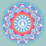 Spring edition floral mandala Stock Photography