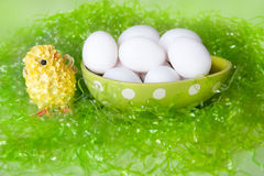 Spring Eggs Royalty Free Stock Photo