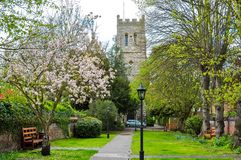 Spring in Eton, United Kingdom royalty free stock photography