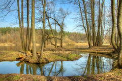 Spring in Europe. HDR photo Stock Photo