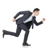 Spring för affärsman arkivbild