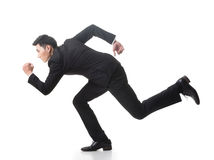 Spring för affärsman arkivbilder