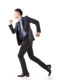 Spring för affärsman fotografering för bildbyråer