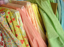 Spring Fabric Stock Photos