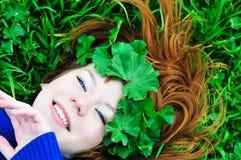 Spring face Stock Photo
