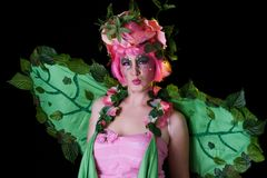Spring Fairie Stock Photography