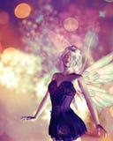 Spring Fairy Stock Photo