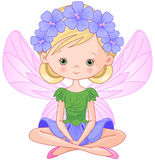 Spring Fairy. Illustration of flying beautiful spring fairy Stock Images
