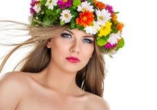 Spring fairy Stock Image