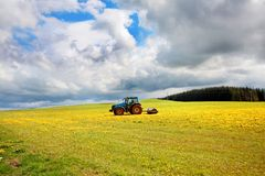 Free Spring Farmwork In The Fields Stock Photos - 24734603