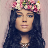 Spring fashion look Royalty Free Stock Images