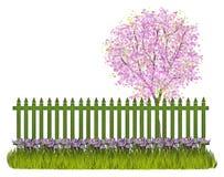 Spring fence Stock Photos