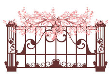 Spring fence Royalty Free Stock Photography