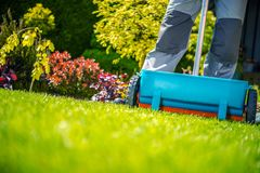 Free Spring Fertilization Of Grass Royalty Free Stock Photography - 108379507