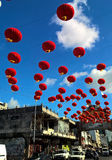 Spring festival in Chinatown Royalty Free Stock Photography
