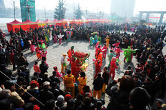 The Spring Festival coming Royalty Free Stock Photos